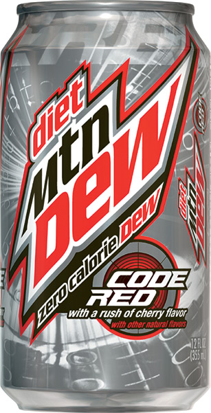 Buy Diet Mountain Dew Code Red By in: admin - Posted in: Exercise Information. The official home of Mountain Dew® gaming, sports, music and more. #4: Flame Retardant Drinks. If you live in the US and drink Mountain Dew and some other citrus-flavored sodas and sports drinks, then you are also getting a dose of a synthetic chemical called.